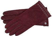 Roeckl 13012-362, Guanti Donna, Rot (Granat 460), 8