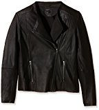 SELECTED FEMME Sfdanjas Ls Leather Blazer, Blazer Donna, Nero (Black), 42