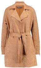 Missguided BONDED ZIP DETAIL Trench tan