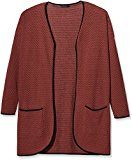 ONLY 15103845-Cardigan Donna    Rot (Marsala) 40