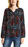 Cecil Flower Blouse, Camicia Donna, Schwarz (Black 30001), XX-Large