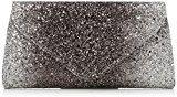 Coast Bags Myra Donna Pochette da giorno Argento (Silver) 4x13x25 cm (W x H x L)