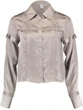 Lost Ink SCALLOP EDGE Camicia silver