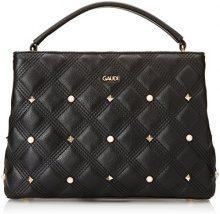Gaudì Handbag Linea Aurora, Borsa a Mano Donna, Nero (Black), 31 x 22.5 x 11 cm (W x H x L)