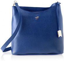Piero Guidi 210801082, Borsa a Tracolla Donna, Blu (Notte Scura), 32 x 30,5 x 11,5 cm (W x H x L)