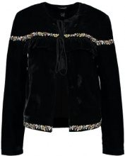 New Look SOFT FRILL  Blazer black