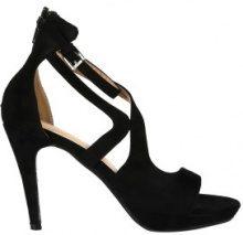 Sandali con tacco alto semiaperti