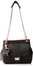 Lollipops Alix Glitter Chain Side - Borse a spalla Donna, Noir (Black), 16x12x33 cm (W x H L)