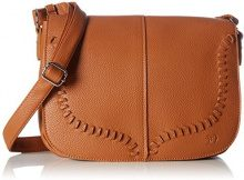 Tom Tailor Denim Imke - cartella Donna, Braun (Cognac), 725x21x31 cm (L x H D)