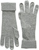 Tommy Hilfiger - ANNA BASIC GLOVES, Guanti da donna, Grau (LIGHT GREY HTR 039), Medium (taglia Produttore: Medium)