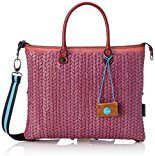 GABS G3-B M INFIES, Borsa a Mano Donna, Multicolore (Purple+red), 1x31x38 cm