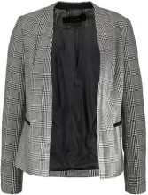 Vero Moda VMJOYCE Blazer black/snow white checks