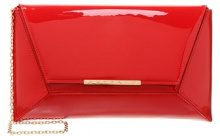 Buffalo Pochette patent red
