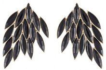 ONLY ONLVABIS Orecchini black/goldcoloured