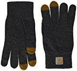 Carhartt, Touch Screen Gloves - Guanti, unisex, colore dark grey heather, taglia L