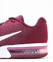 Nike Performance AIR MAX SEQUENT 2 Scarpe running neutre bordeaux/white tea/berry white