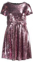TFNC THEA MINI SKATER Vestito elegante pink/silver