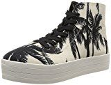 Steve Madden Donna, Sneakers, Bountie, Multicolore (Black/White), 38