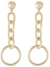Missguided CHAIN CIRCLE Orecchini goldcoloured
