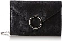 Tamaris Erin Clutch Bag - Pochette da giorno Donna, Schwarz (Black), 5x17x25 cm (B x H T)