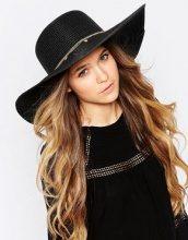 ALDO - Cappello floscio di paglia con ciondoli in metallo