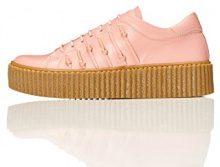 FIND Sneaker Stringata in Pelle Donna
