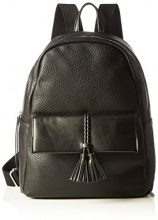 PIECES Pcbafar Backpack, Borsa a Zainetto Donna, Nero (Black), 13 x 36 x 26 cm (B x H x T)