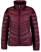 Abercrombie & Fitch PACKABLE PUFFER Piumino burgundy