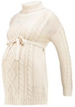 MAMALICIOUS MLCABLE KNIT Maglione moonbeam