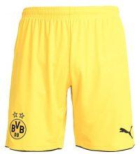 Puma BORUSSIA DORTMUND Pantaloncini sportivi cyber yellow/black