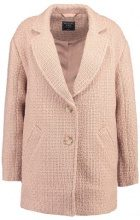 Abercrombie & Fitch NOTCHED OVOID COAT Cappotto classico med pink