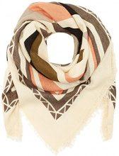 PIECES Pcmaja Square Scarf Pb, Sciarpa Donna, Multicolore (Whitecap Gray), Taglia Unica