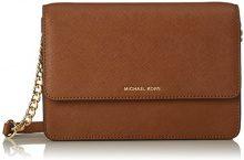 Michael Kors Daniela - Borse a secchiello Donna, Brown (Luggage), 6.5x16.5x24 cm (W x H L)