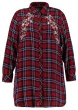 New Look Curves EMBELLISHED CHECK Camicia red pattern