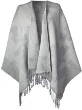 Barts Shade 3456003 Poncho Donna, Grigio (Heather Grey), Taglia Unica