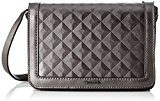 Tamaris Aura Crossbody Bag S - Borse a tracolla Donna, Grau (Pewter), 4.5x14x20 cm (B x H T)