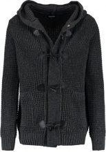 YOURTURN Cardigan mottled dark grey