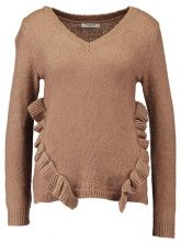 Pieces PCJEANINE VNECK Maglione ginger snap