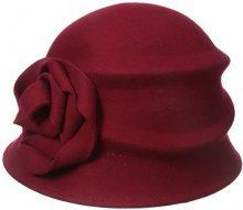 Betmar Alexandrite, Cappello di Feltro Donna, Rosso (Scarlet), Taglia Unica