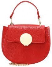 Missguided ROUND BUCKLE DETAIL Borsa a tracolla red