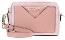 KARL LAGERFELD KLASSIK CAMERA BAG Borsa a tracolla pale rose