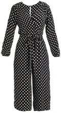 New Look POLKA DOT Tuta jumpsuit black