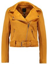 New Look BIKER Giacca in similpelle dark yellow