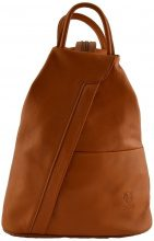 Zaini Dream Leather Bags Made In Italy  Zaino In Pelle Colore Cognac - Pelletteria Toscana Made In Italy