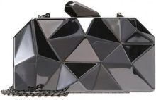 Pieces PCZIZZE PARTY HARD CASE Borsa a mano gunmetal