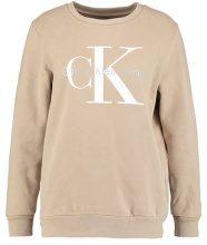 Calvin Klein Jeans CREW NECK TRUE ICON Felpa silver mink