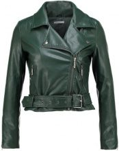 Glamorous Petite BIKER JACKET Giacca in similpelle forest green