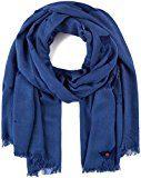edc by Esprit Accessoires 117ca1q008, Sciarpa Donna, Blu (Blue 430), Taglia Unica