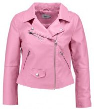 Only Petite ONLSUN BIKER Giacca in similpelle begonia pink