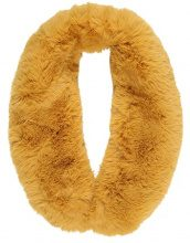 New Look TEDDY COLLAR Scaldacollo dark yellow